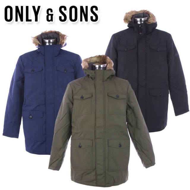 ONLY & SONS jackets for men at wholesale price