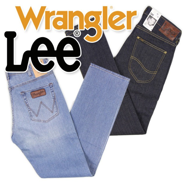 WRANGLER & LEE jeans for women and men at wholesale price