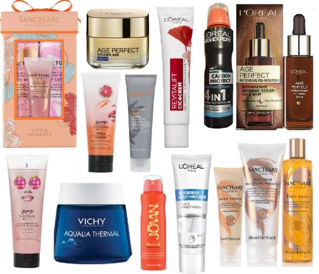 Hautpflege Produkte im neuen Mix!