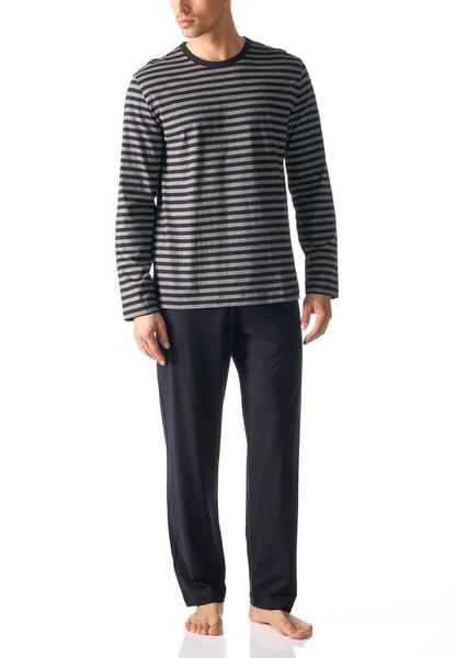 Herren-Pyjama lang