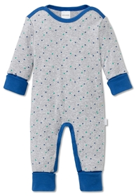 Baby Anzug mit Vario - 202/grau-mel.