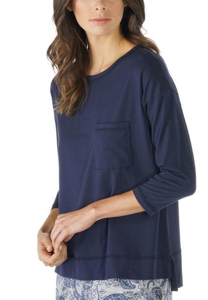 ** Demi Shirt 3/4 sleeve - 408/night blue