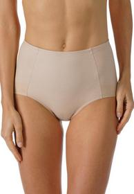 High-waist Pants - 376/cream tan