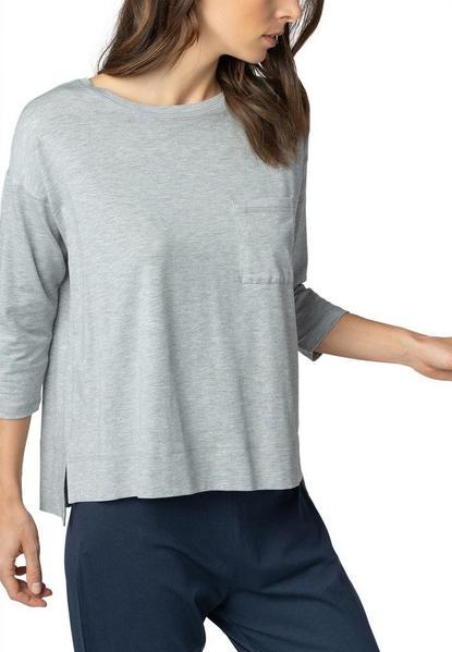 ** Demi Shirt 3/4 sleeve - 439/grey melange