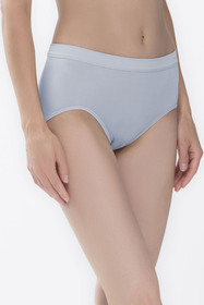 Taillen-Pants - 419/powder blue