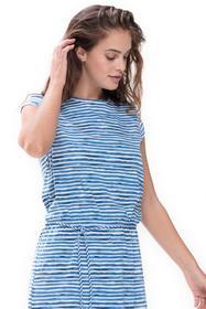 ** Alora Sleepshirt Capsleeve - 425/pacific blue