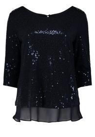 Shirt Kurz 3/4 Arm, Night Sky