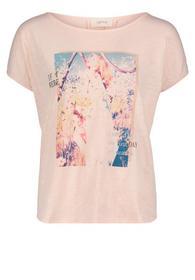 Rundhals-Shirt