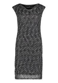 Kleid Kurz ohne Arm, Grey/Gold
