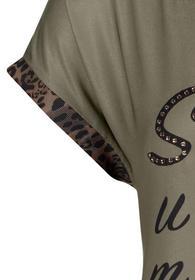 Shirt Lang ohne Arm