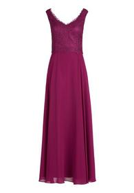 Kleid Lang ohne Arm - 4221/Berry Pink