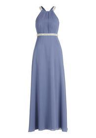 Kleid Lang ohne Arm - 8135/Gray Blue
