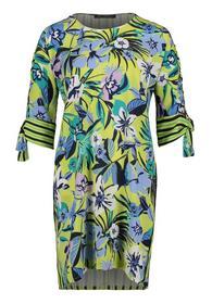 Kleid Kurz 1/2 Arm - 5880/Green/Blue