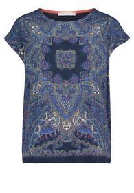 Shirt Kurz 1/2 Arm - 8815/Classic Blue/Nature