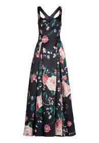 Kleid Lang ohne Arm - 8842/Blue/Ros