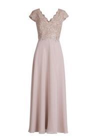 Kleid Lang 1/2 Arm - 4481/Foggy Rose