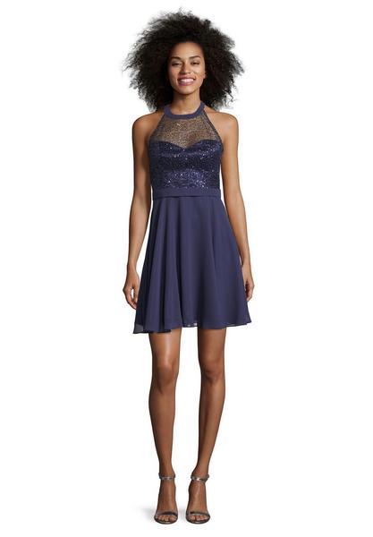 Kleid Kurz ohne Arm - Kleider - Damen