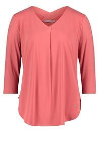 Shirt Lang 3/4 Arm - 4430/Cranberry