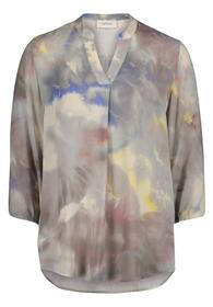 Bluse Lang 3/4 Arm - 7848/Taupe/Ros