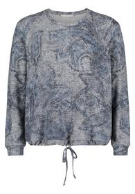 Sweat Kurz 1/1 Arm - 9881/Grey/Blue