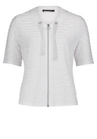 Shirt Jacke Kurz 1/2 Arm