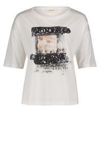 T-Shirt - Cream/Silver