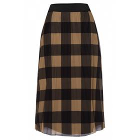 Pleated Mesh Skirt Active