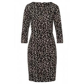 Animal Jacquard Dress Active