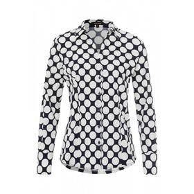 Blouse with Dot Print