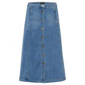 Denim Midi Skirt Active