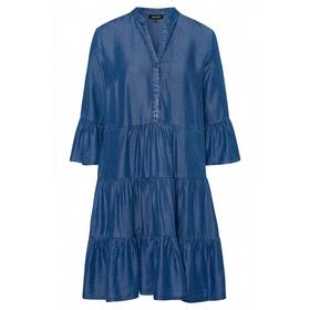 Lyocell Dress Active - 0962/mid blue denim