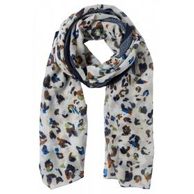 Printed Scarf Active - 4662/muddy green multi