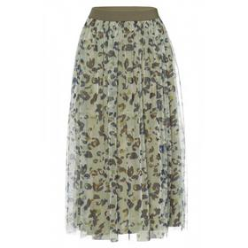 Printed Mesh Skirt Active