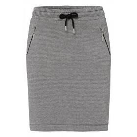 Check Jacquard Jersey Skirt