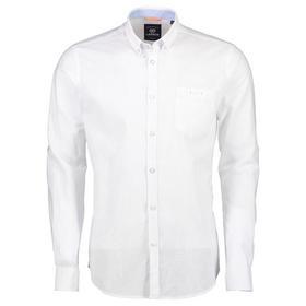 Lerros Hemd in Leinenoptik