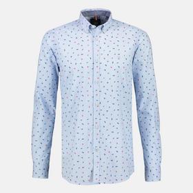 Hemd mit Minimalprint