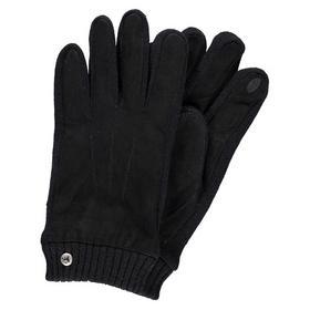 Lerros Handschuhe mit Ledereinsätzen