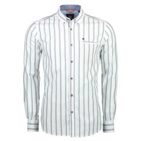 Lerros Langarmhemd mit Längsstreifen