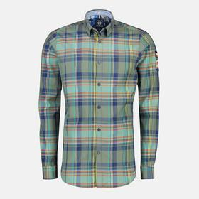 Multicolour-Check Hemd