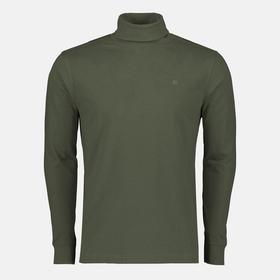 Rollkragen-Langarmshirt