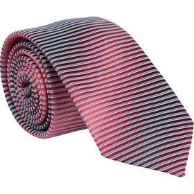 Krawatte 6,0cm - Ablaufstreifen Beere
