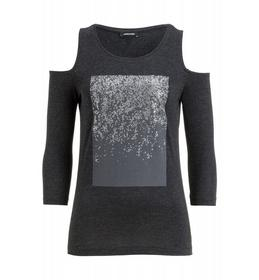 T-Shirt, Schulter Cut-Out