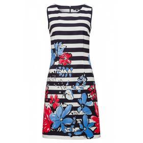 Kleid 1-tlg. kurz - 3375/marine multi