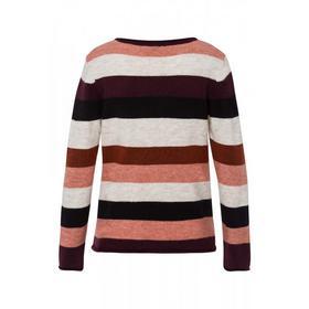 Streifen-Pullover