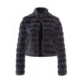 Fake-Fur Jacke