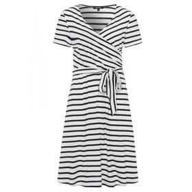 Wrapped Dress Active - 2041/jersey stripe wide