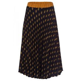Grafical Print Plissee Skirt Active