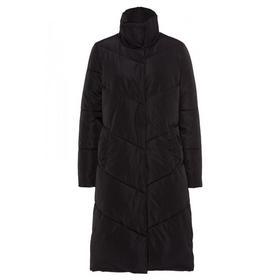 Long Puffa Coat Active - 0790/black