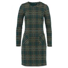 Check Jacquard Dress Active
