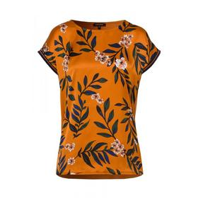 Satinfront Shirt Active - 4464/pumpkin orange mult